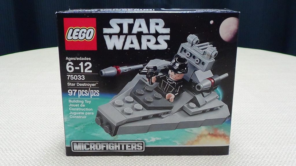 LEGO Star Wars Microfighters STAR DESTROYER: EmGo Builds Stuff