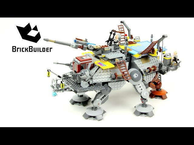 Lego Star Wars 75157 Captain Rex's AT-TE – Lego Speed Build