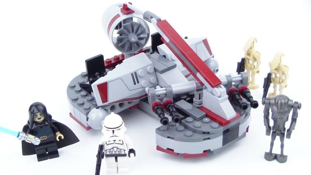 LEGO Star Wars: Republic Swamp Speeder 8091 Review!!! From 2010