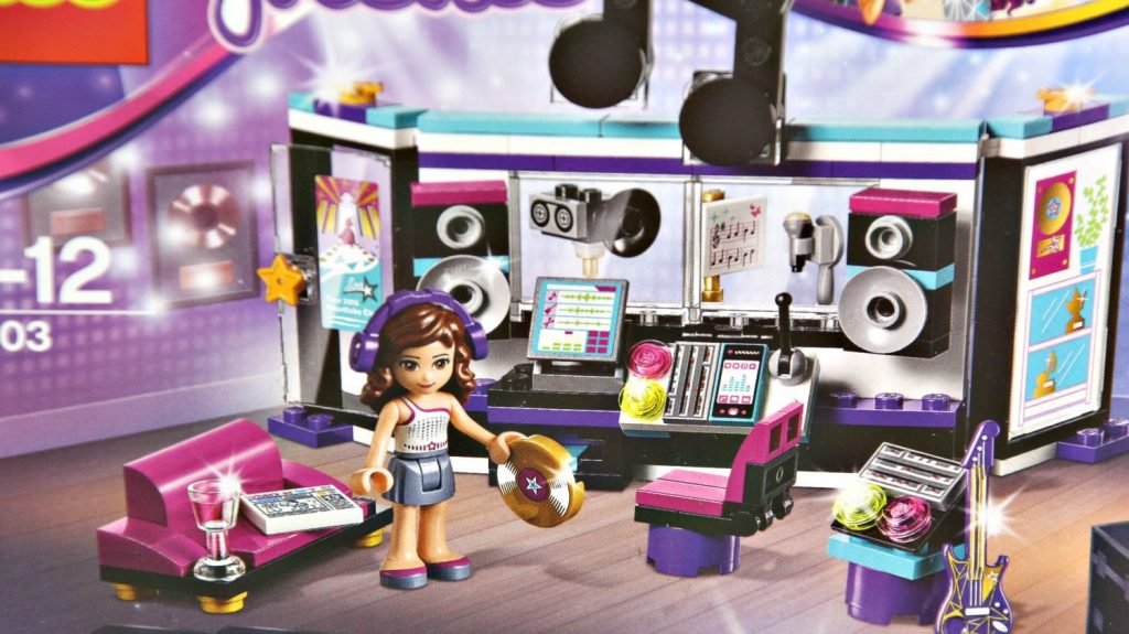 Pop Star Recording Studio / Studio Nagrań Gwiazdy Pop – Lego Friends  – 41103 – Recenzja