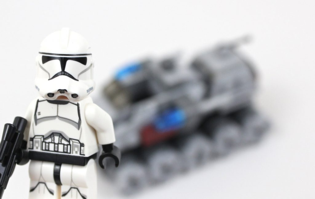 LEGO Star Wars Microfighters Clone Turbo Tank Review 75028