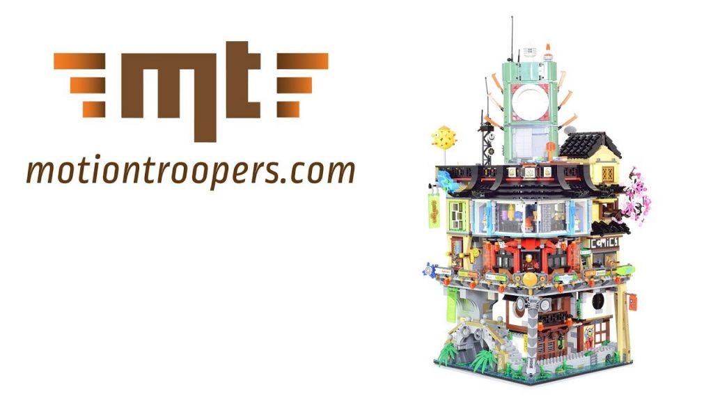 Lego Ninjago City – Super Smooth Timelapse set number 70620