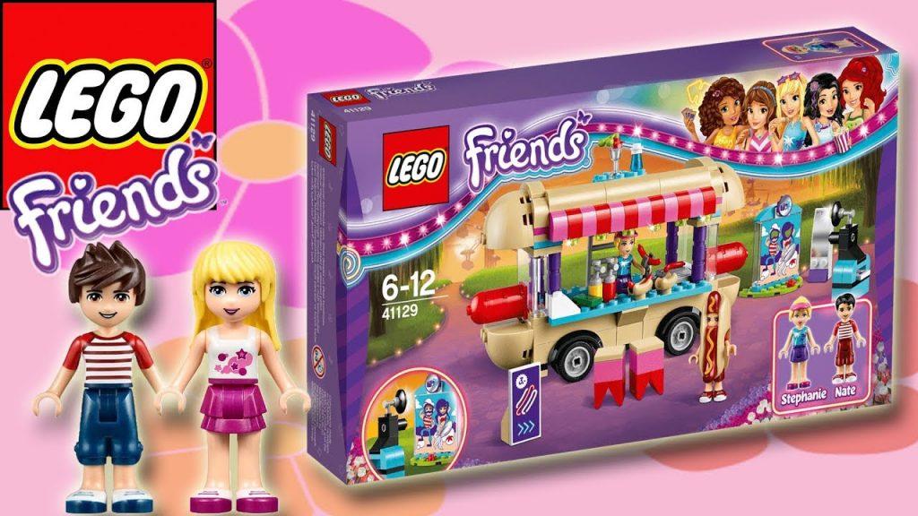 LEGO FRIENDS – AMUSEMENT PARK HOT DOG VAN  | Little Kelly & Friends ToysReview for Kids