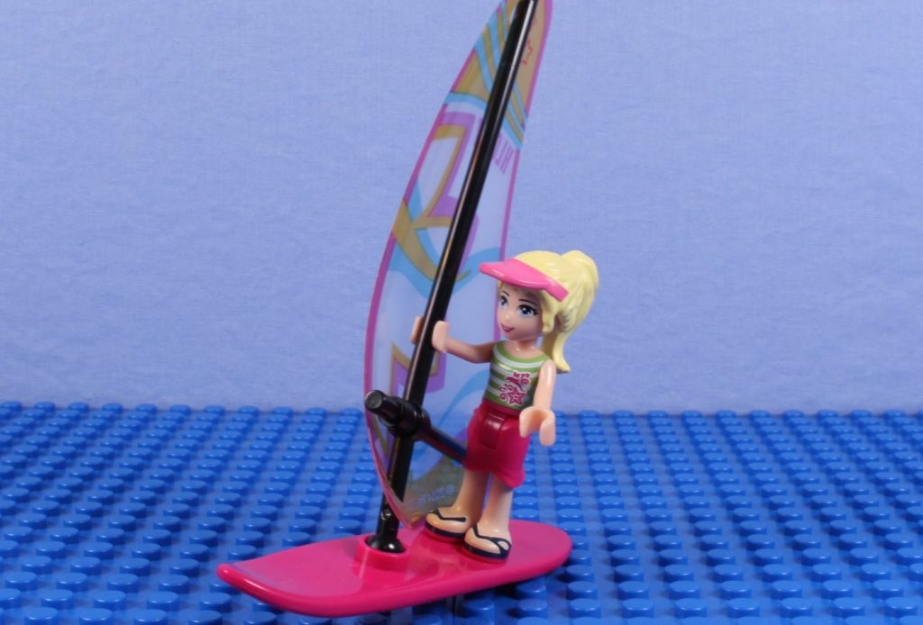 "LEGO Friends Stop-Motion Animation: ""Windsurfing, YEAH!!"""
