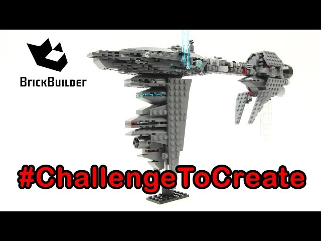Lego Star Wars MOC Nebulon B #ChallengeToCreate – Lego Speed Build