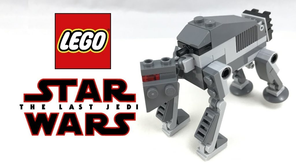 LEGO Star Wars The Last Jedi First Order Heavy Assault Walker review! 2017 polybag 30497!
