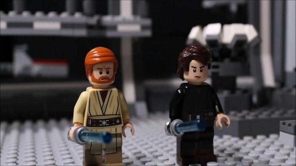 Lego Star Wars – Anakin and Obi Wan vs Count Dooku