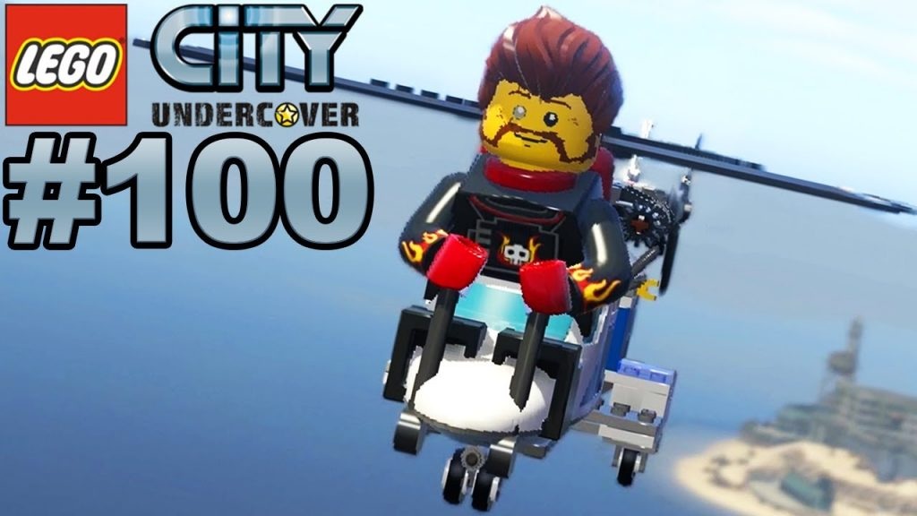 LEGO CITY UNDERCOVER #100 100% und Ende 🐲 Let's Play LEGO City Undercover [Deutsch]