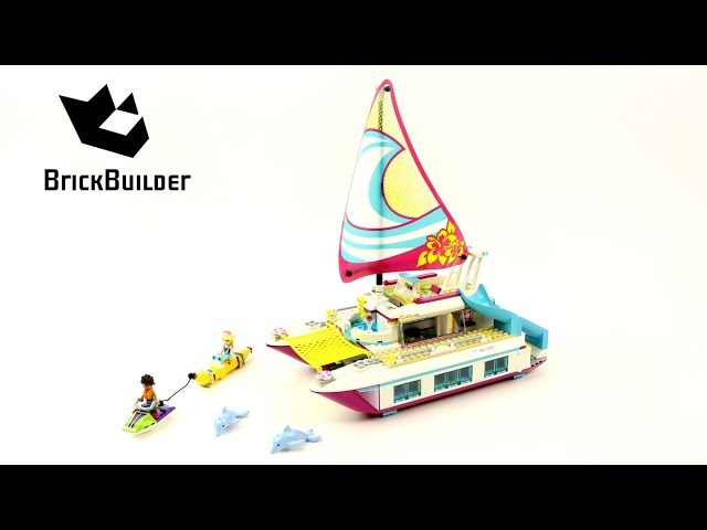 Lego Friends 41317 Sunshine Catamaran – Lego Speed Build