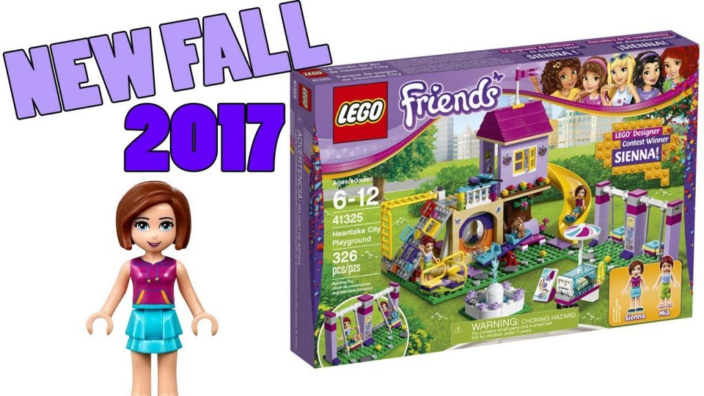 New LEGO Friends 2017 Fall Heartlake City Playground Set Images LEGO Designer Contest Winner! 41325