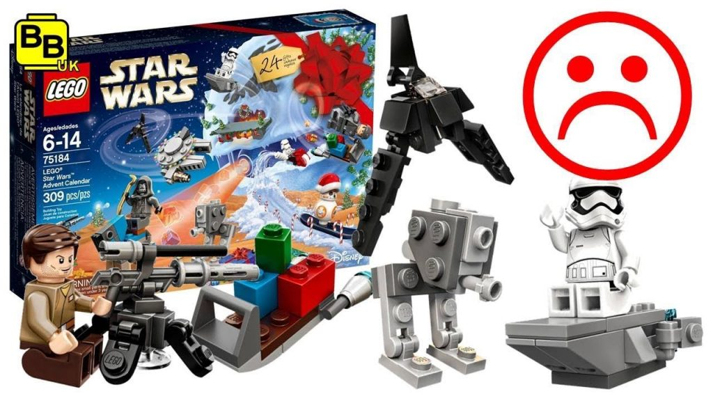 OUR THOUGHTS ON THE 2017 LEGO STAR WARS 75184 ADVENT CALENDAR
