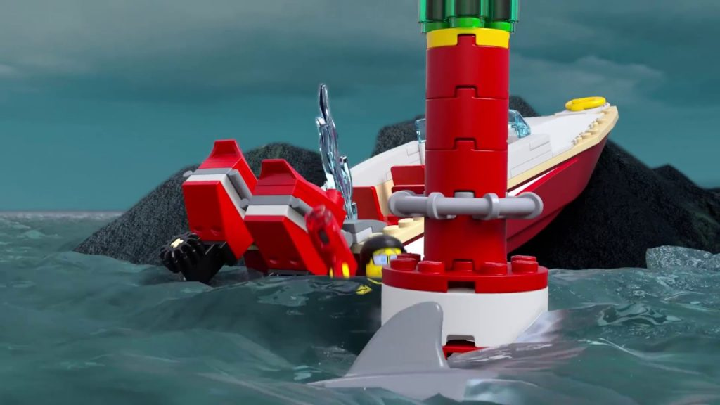 Coast Guard – LEGO CITY –  Coast Guard Headquarters