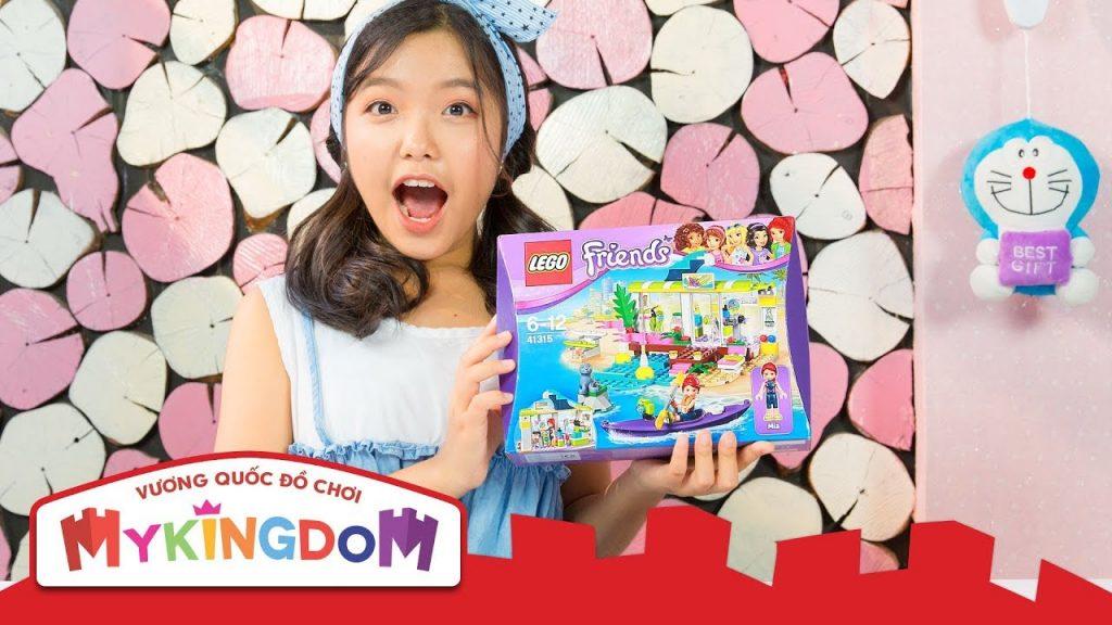 Lắp ráp LEGO FRIENDS | Bữa Tiệc Bãi Biển 41315 – Cửa hàng Dụng Cụ Lướt Sóng của MIA