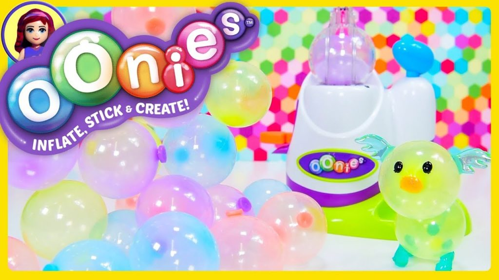 Oonies Sticky Bubble like Balloons Craft DIY Starter Pack Review Silly Play Kids Toys