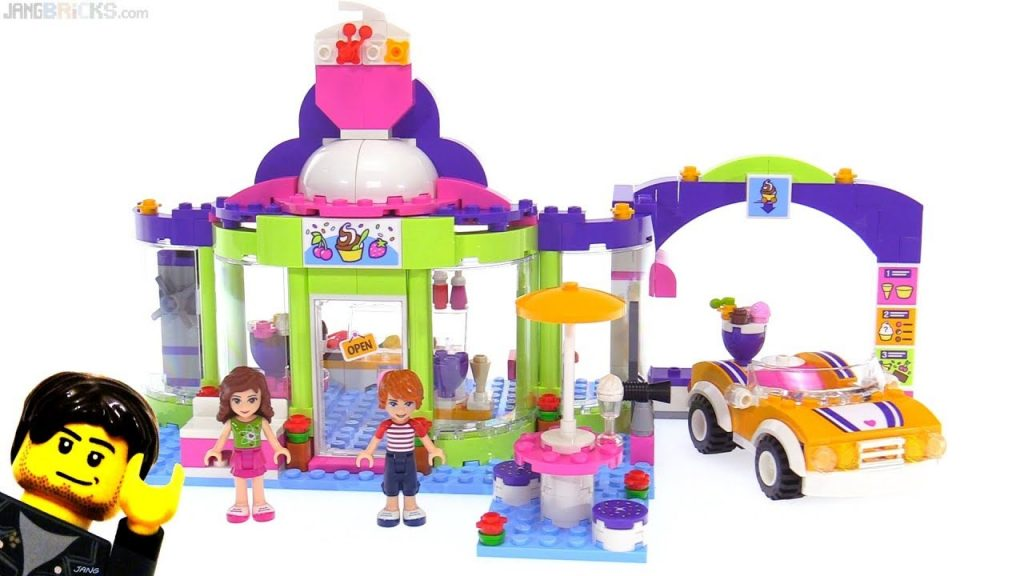 LEGO Friends Heartlake Frozen Yogurt Shop review 🍦 41320