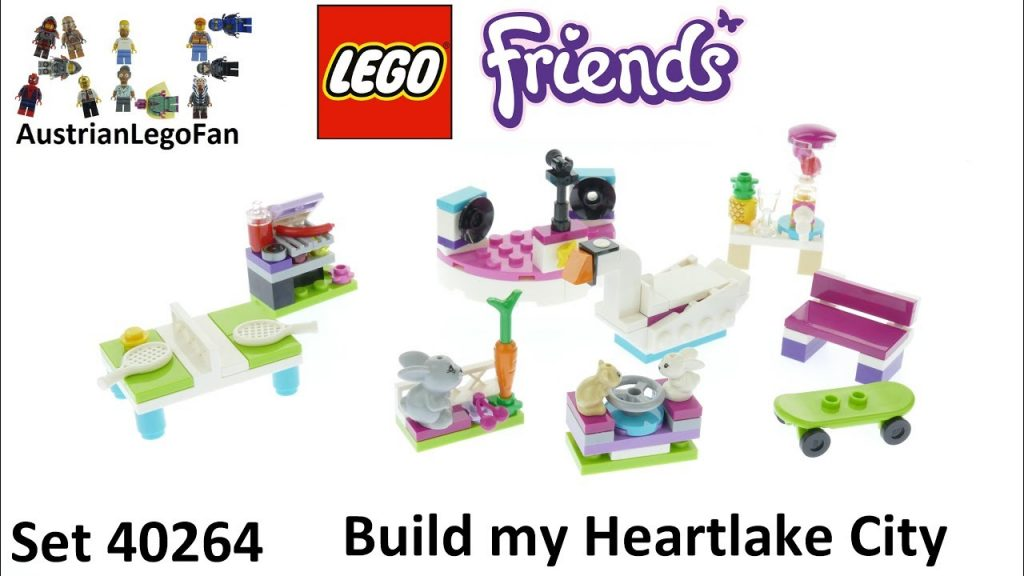 Lego Friends 40264 Build My Heartlake City Accessory Set – Lego Speed Build Review