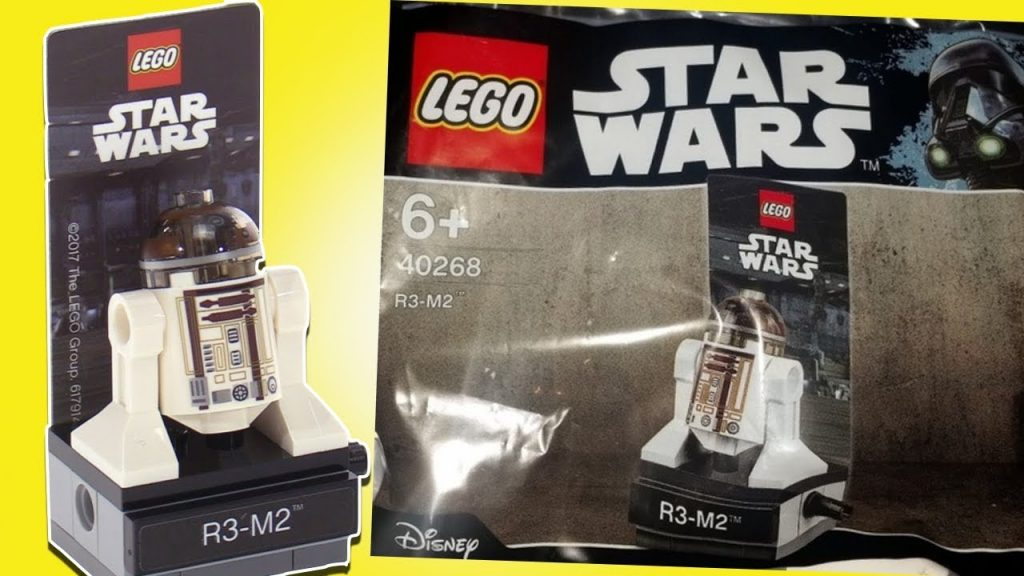 LEGO Star Wars R3-M2 promotional polybag 40268 . LEGO ОБЗОР