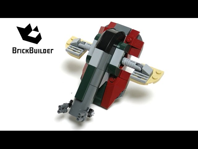 Lego Star Wars 20019 Slave I – Lego Speed Build