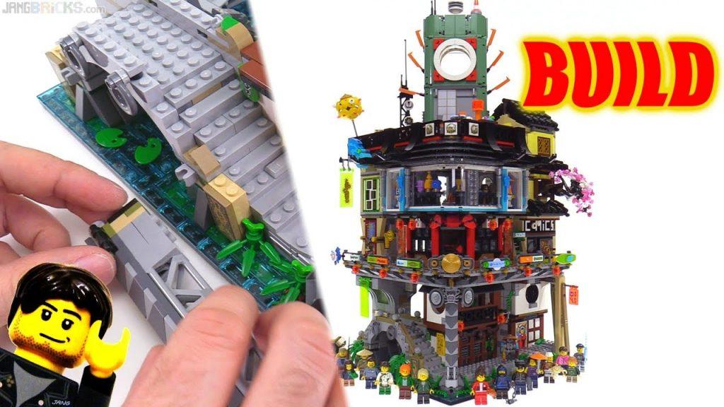 Time-lapse ⏩ LEGO Ninjago City BUILD 70620