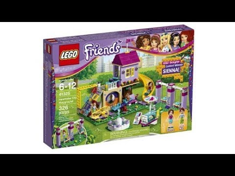 LEGO News: LEGO Friends Fan Designer, Heartlake City Playground Ground set 41325 pictures