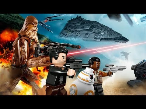 LEGO Star Wars The Last Jedi Minifigures Sets Poster