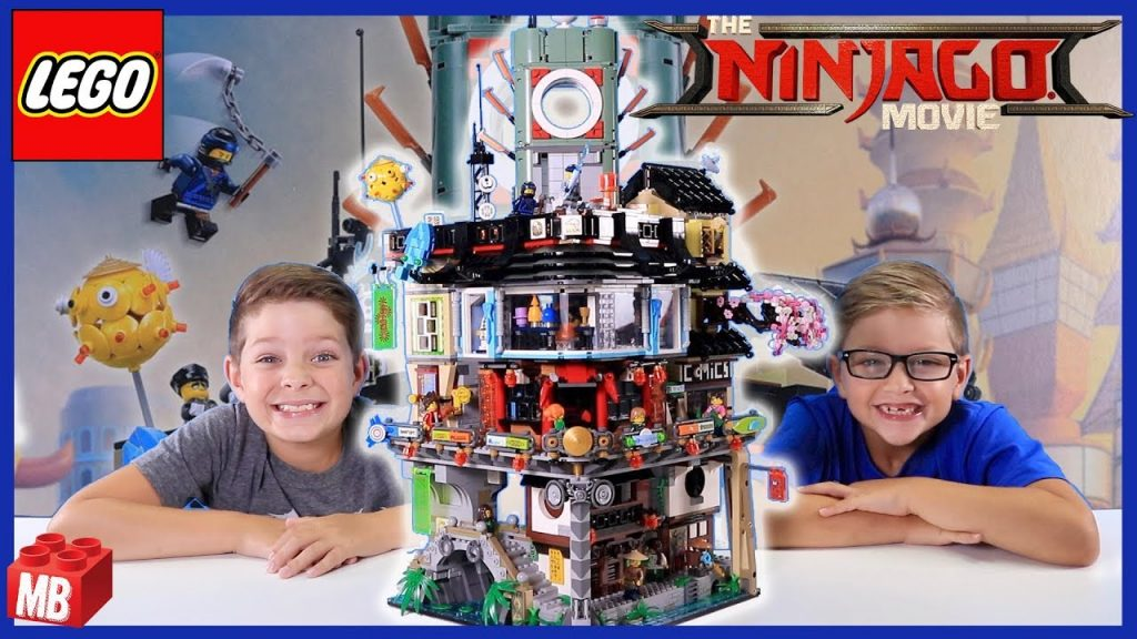 Lego NINJAGO MOVIE Ninjago City Unboxing Build Review PLAY #70620 BUILD CHALLENGE!