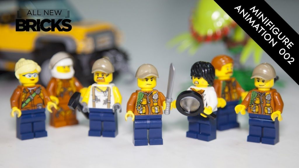 Lego City Jungle Explorers Minifigure Animation