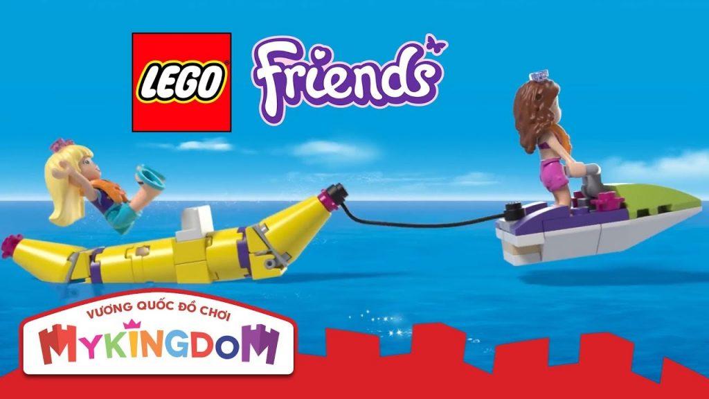 Đồ chơi lắp ráp LEGO FRIENDS | 41317 – Du Thuyền Ánh Nắng