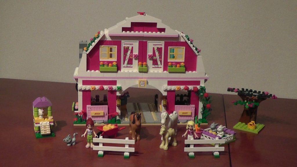 unboxing LEGO Friends 41039 Słoneczne ranczo rozpakowanie
