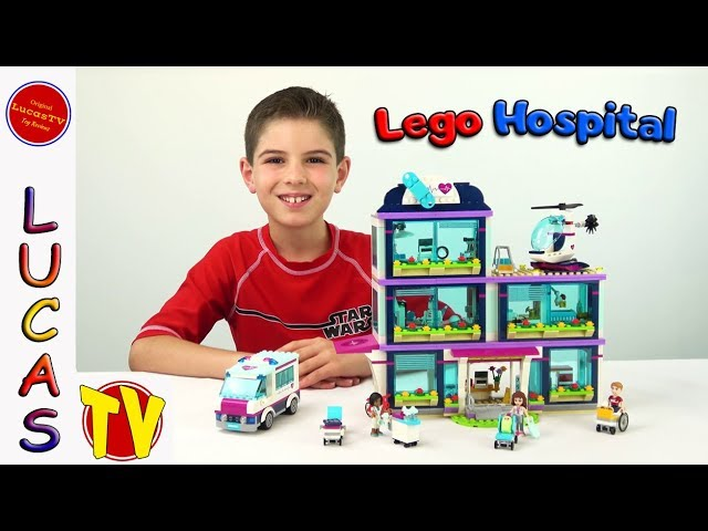 🚑 Lego Friends Heartlake Hospital Set 41318 Speed Build and Fun Toy Review For Kids