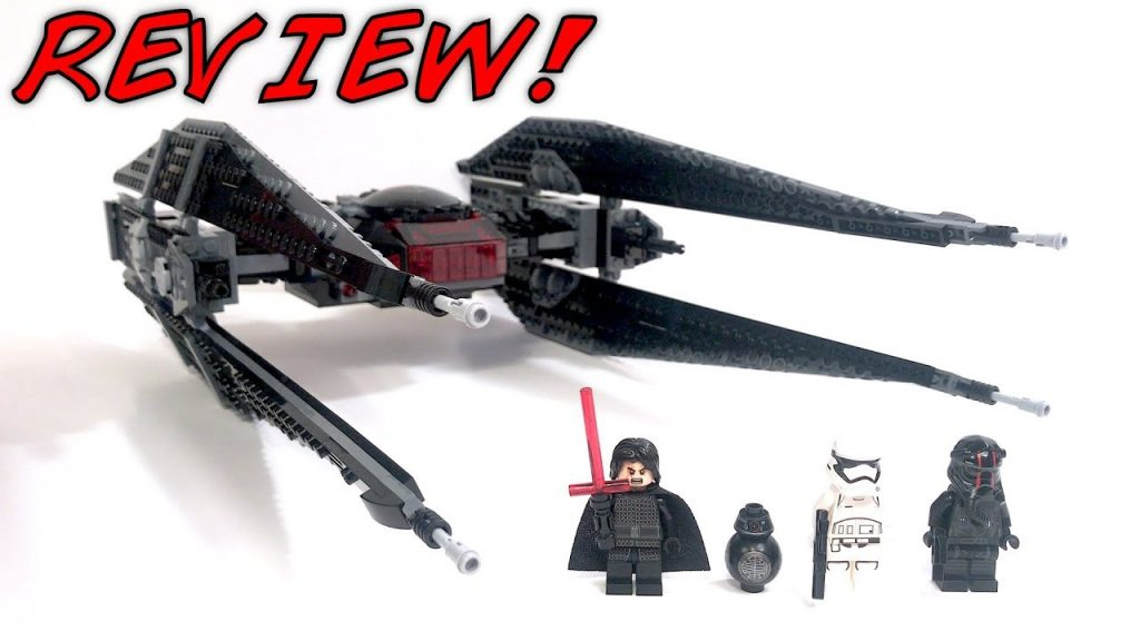 LEGO Star Wars 75179 KYLO REN'S TIE FIGHTER Review! | The Last Jedi 2017 Set! | BB-9E!