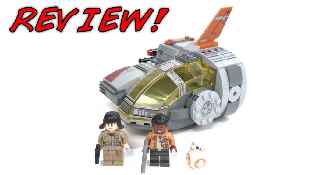 LEGO Star Wars 75176 RESISTANCE TRANSPORT POD Review! | The Last Jedi 2017 LEGO Set!