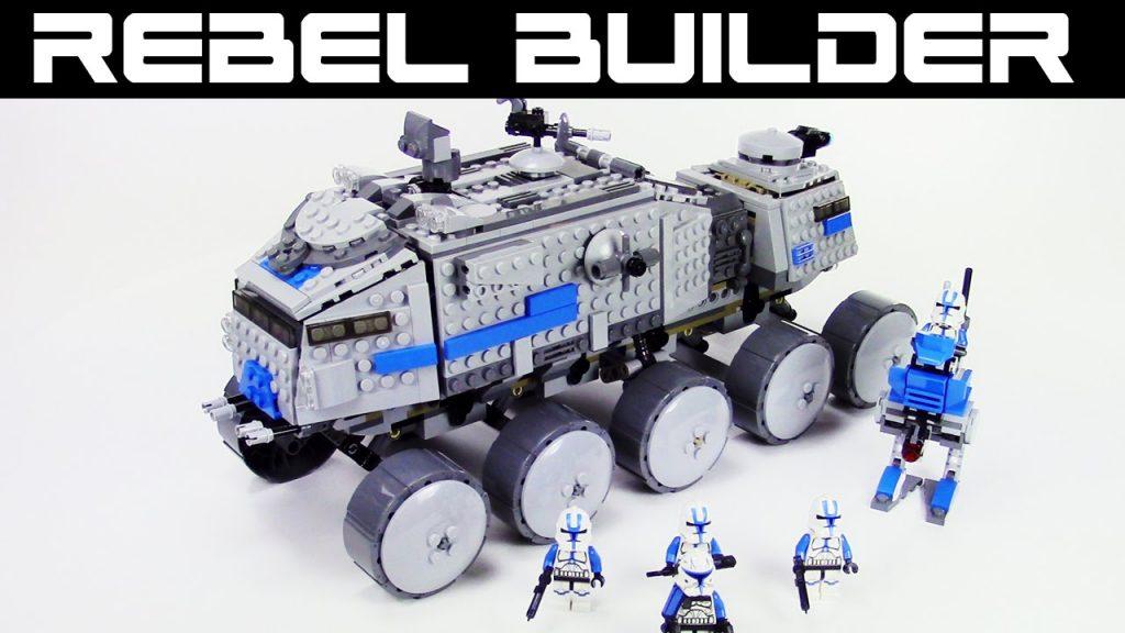 LEGO Star Wars 501st Clone Turbo Tank! Set 75151