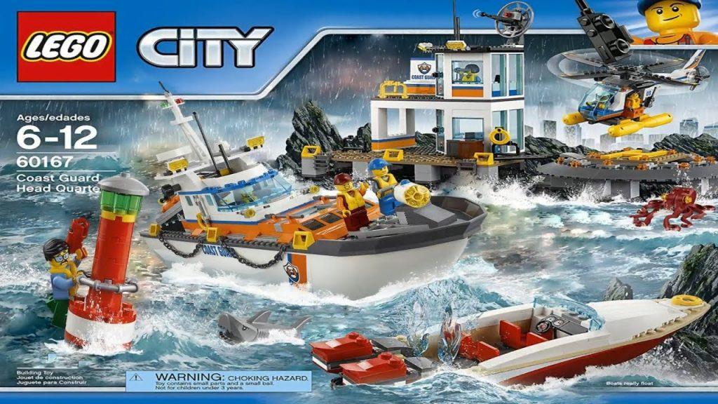 LASTENOHJELMIA SUOMEKSI – Lego city – Rannikkovartiosto animaationa