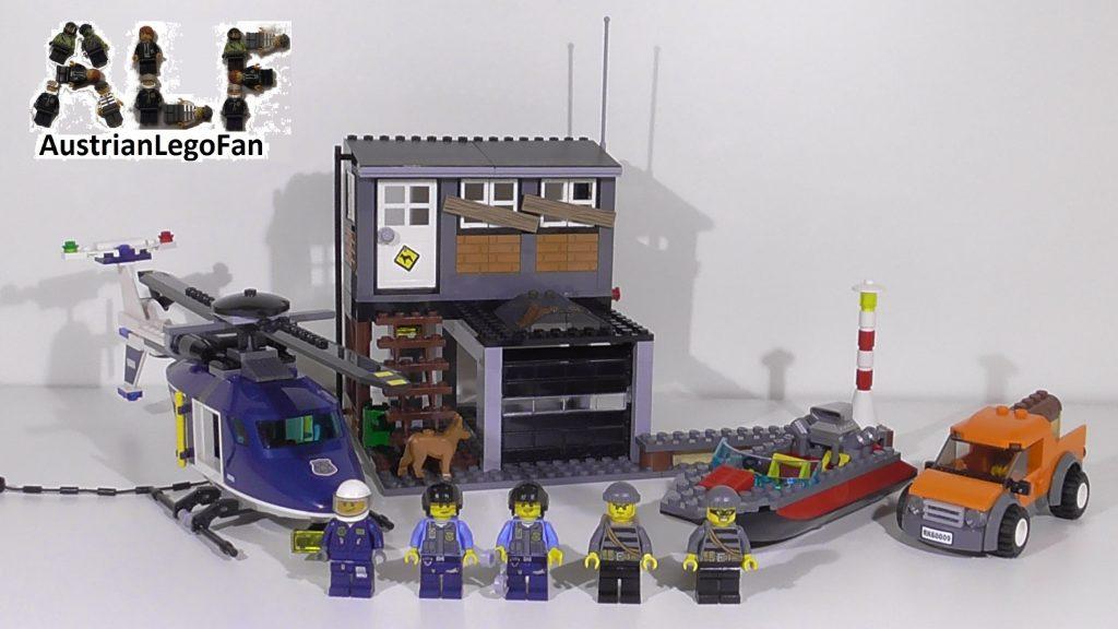 Lego City 60009 Helicopter Arrest / Polizei Hubschrauber & Räuberversteck – Lego Speed Build Review