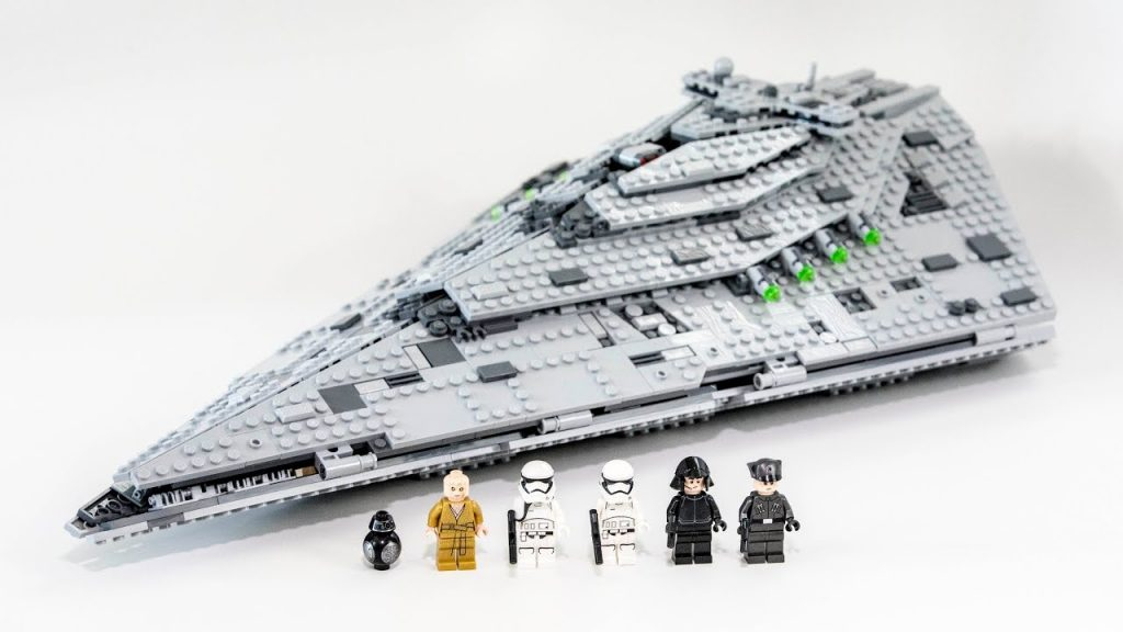 LEGO Star Wars First Order Star Destroyer (Timelapse & Review) – Set 75190