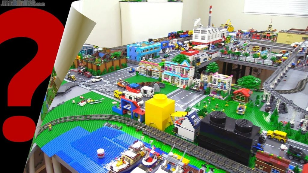 LEGO City expansion reveal! New Jang City re-work Progress 3