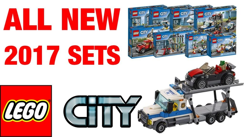 LEGO City Police All New 2017 sets Winter Wave pictures! New Police Station 2017