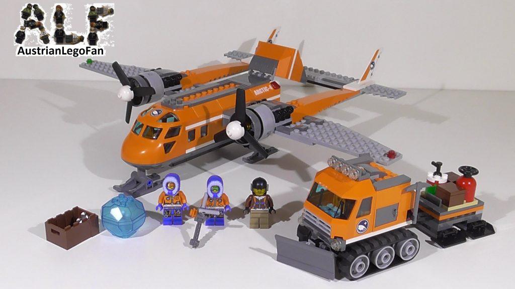 Lego City 60064 Arctic Supply Plane / Arktis Versorgungsflugzeug – Lego Speed Build Review