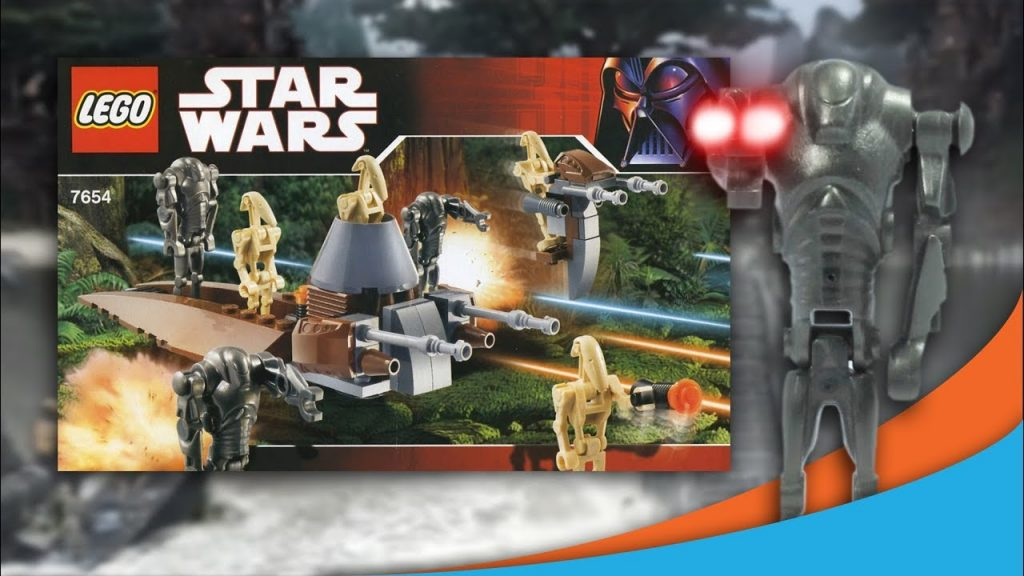 Lego Star Wars 2007 Droids Battle Pack Animated! | 7654