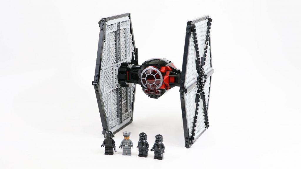 LEGO Star Wars First Order TIE Fighter (Timelapse & Review) – Set 75101
