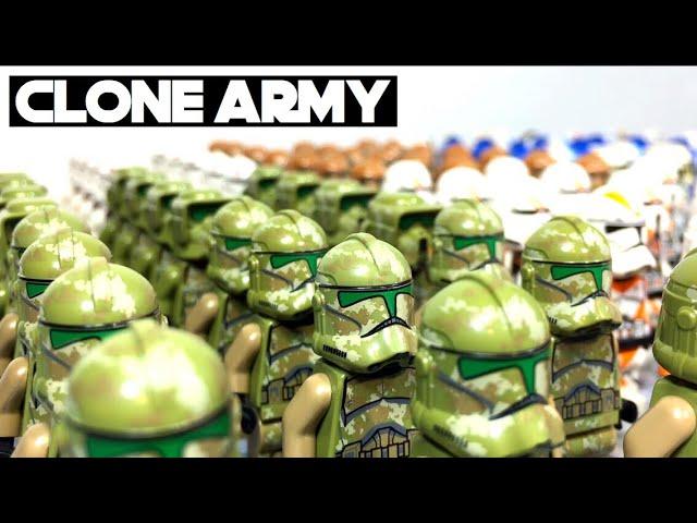 LEGO Star Wars Clone Army   August 2017