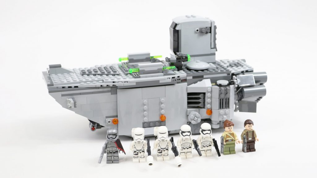 LEGO Star Wars First Order Transporter (Timelapse & Review) – Set 75103