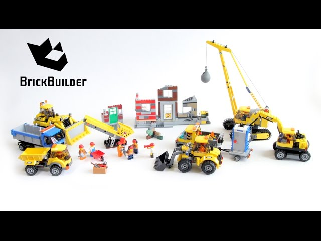 Lego City All Demolition 2015 sets!