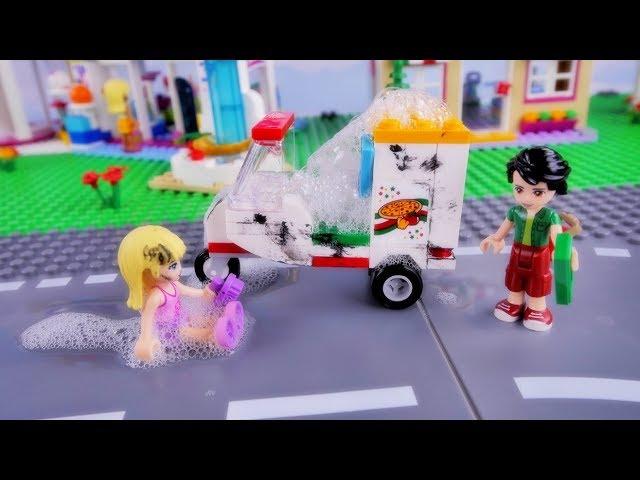 Pierwsza praca Stephanie – Bajka po polsku z klockami Lego Friends odc.80