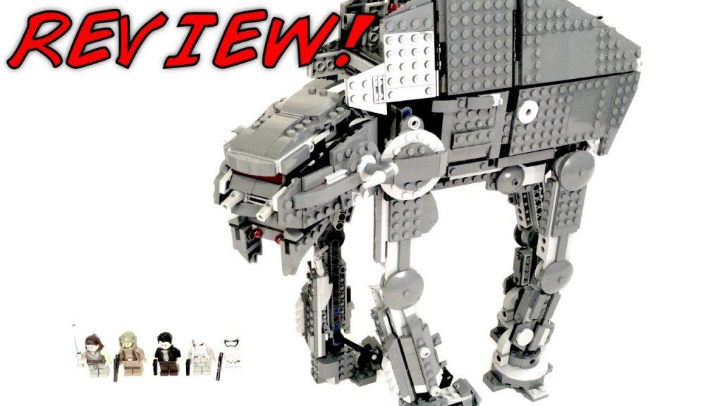LEGO Star Wars 75189 FIRST ORDER HEAVY ASSAULT WALKER Review!    The Last Jedi 2017 Set!   NEW Rey!