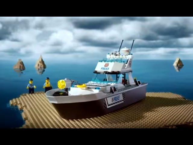 Lego City 2016 – Prison Island 60130 & Police Patrol Boat 60129 – TV Toys