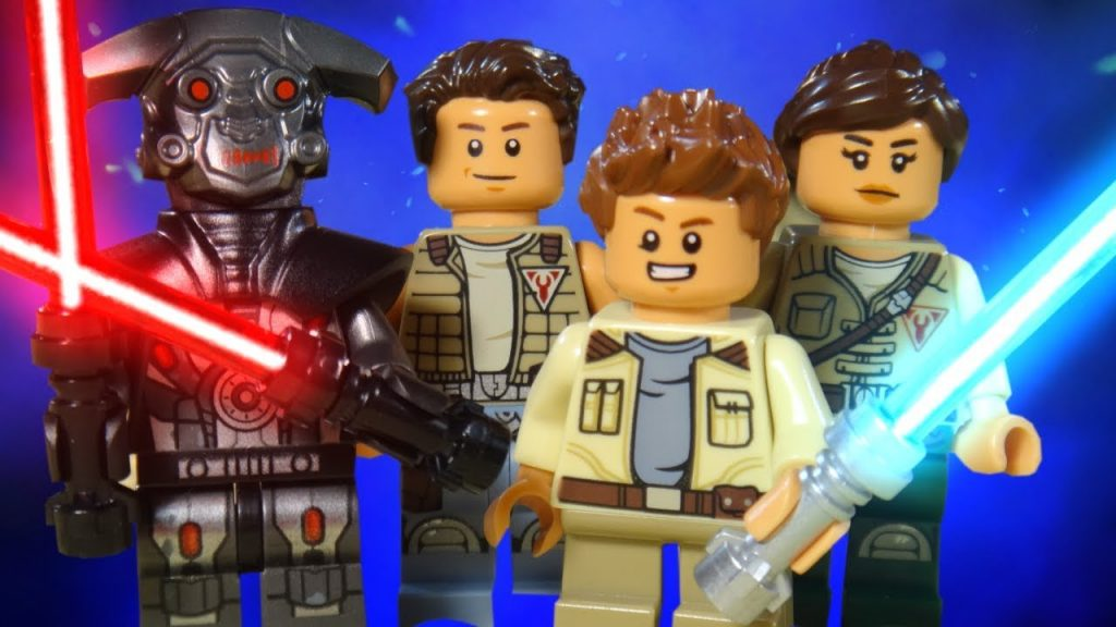 LEGO STAR WARS – THE FREEMAKER ADVENTURES – M-OC HUNTER DROID ATTACK!