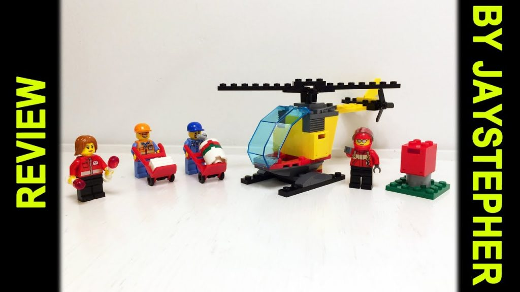 Review – Lego City: Airport Starter Set (60100)