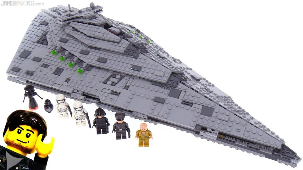 LEGO Star Wars First Order Star Destroyer review! 75190